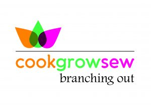 Cook Grow Sew Branching Out Logo