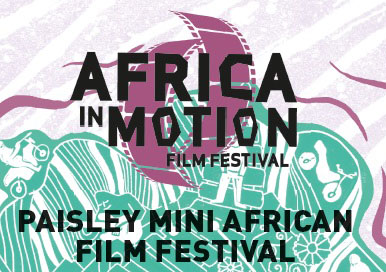 Africa in Motion 2017 Paisley Logo